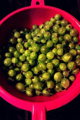 GZICZKA - moje doświadczenia kulinarne: Dżem agrestowy
