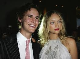 Rhys Wakefield and Gemma Ward.