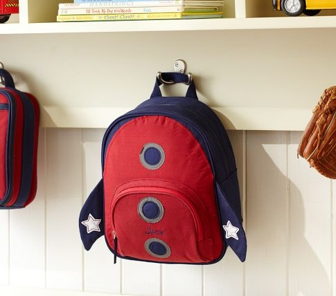 Rocket Preschool Backpack | Pottery Barn Kids... Jackson would love this!