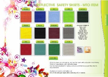 Reflective Safety Shirt details1