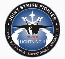 «F-35 Lightning II Program Logo» de Spacestuffplus