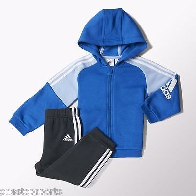 Adidas boys blue 3 stripe #infant/baby #track#suit. jogging #suit. age 6-9 months,  View more on the LINK: http://www.zeppy.io/product/gb/2/262260942972/