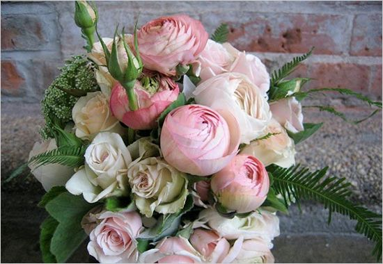 ranunculus wedding bouquet