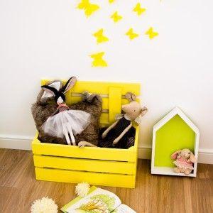 MONKEY TREE wooden box kids room decor _ drewniana skrzynia skrzynka ławka na zabawki, książki do pokoju dziecięcego _ skrzynia z klapą _ kufer na zabawki _ ławeczka _ domek drewniany _ półka domek _ house wood shelf _ wooden shelf  SHOP:  www. monkeytree.pl