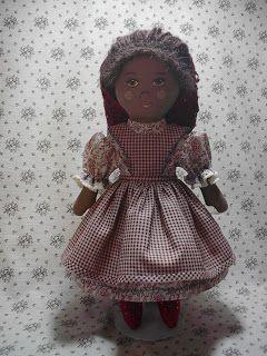 passo a passo em http://byhookbyhand.blogspot.com.br/2010/04/prairie-flowers-original-cloth-doll.html