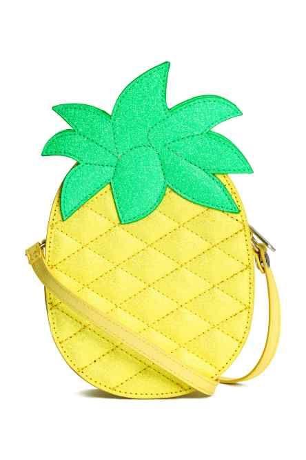 Ananasvormige schoudertas