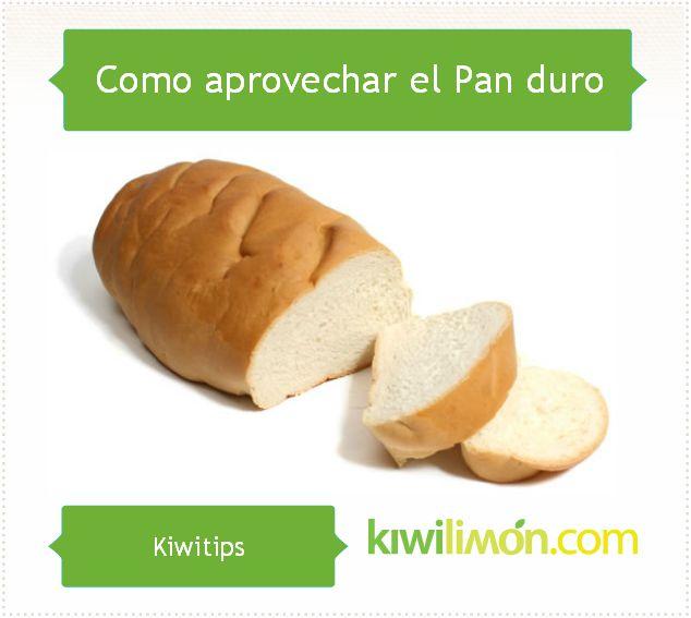 Conoce un útil Kiwitip para suavizar el Pan despues de que se hace duro.
