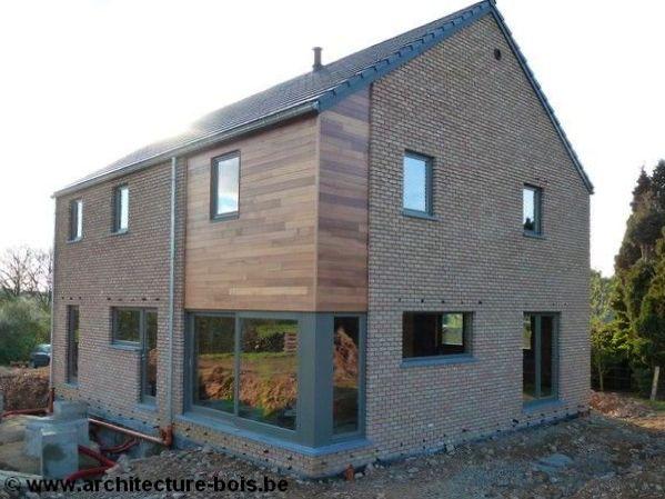 Habitation 3 chambres avec for Extension en brique