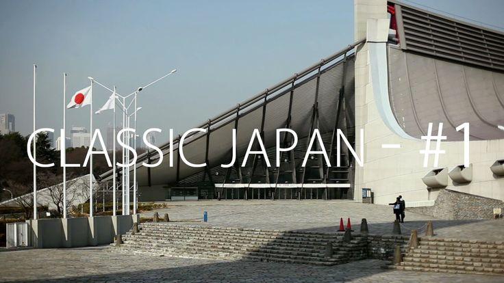 Vincent Hecht [Classic Japan] Episode 1: Yoyogi National Gymnasium I & II by Kenzo Tange - 1964