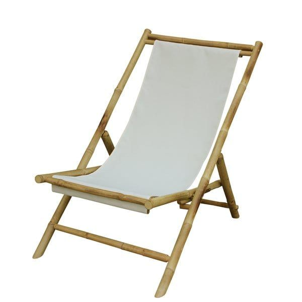 Shop Zew Hand Crafted Foldable Bamboo Sling Patio Chair Free Shipping Today Overstock 11905077 Folding Beach Chair Bamboo Outdoor Sling Chair