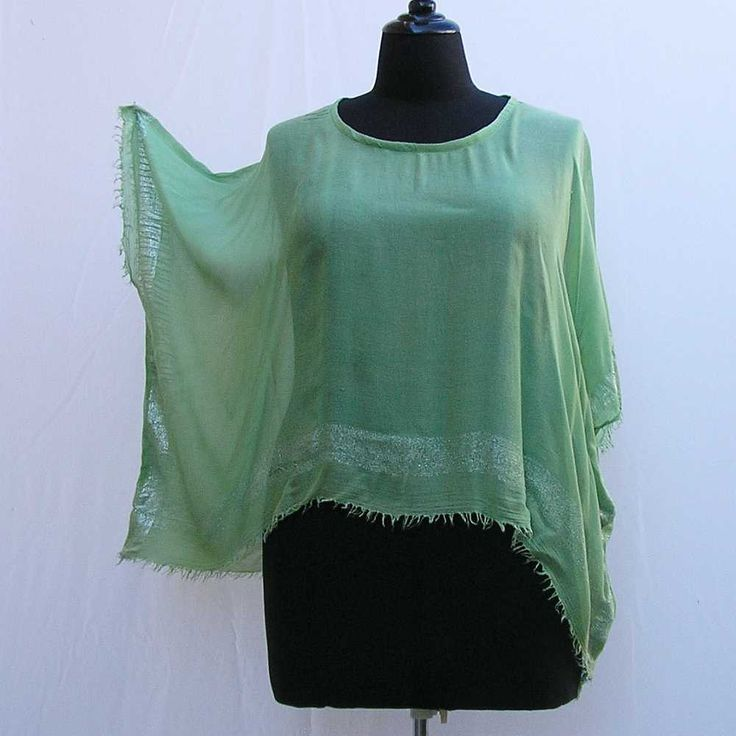 Mint green tunic, Plus size Caftan, plus size tunic, silver green kaftan, plus cover up, boho tunic top, 1x 2x 3x 4x 5x 6x, upcycled tunic by Rethreading on Etsy