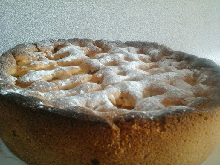Lekkere appeltaart.  prijs: 12 euro. 12 personen.