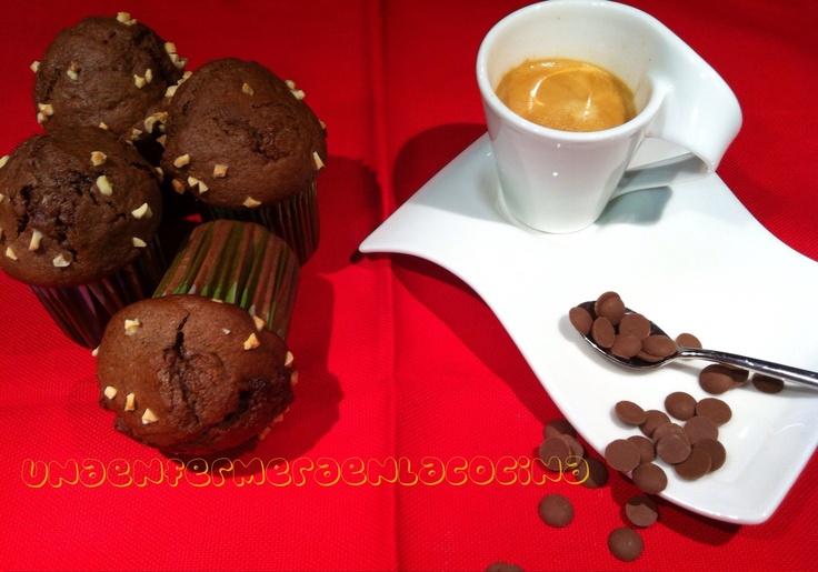 Magdalenas de cafe Moca