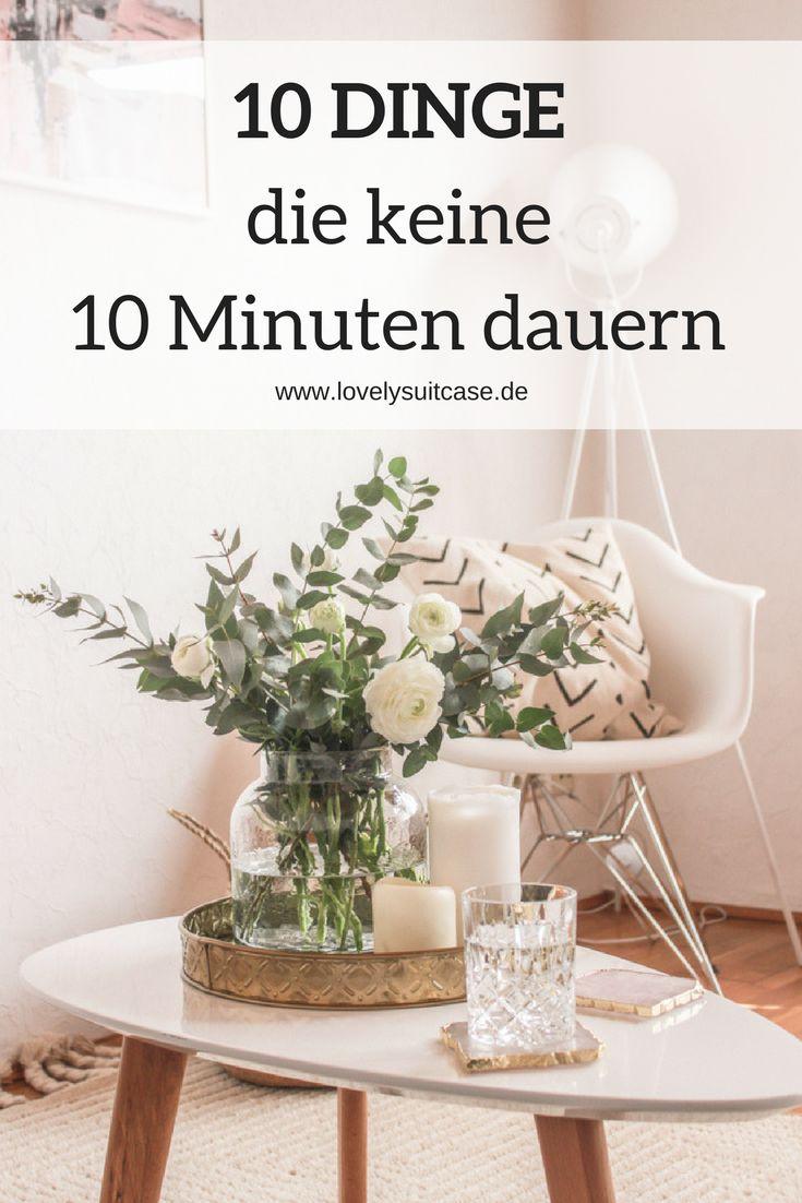 Mit diesen Tipps hältst du Ordnung in deinem Zu Hause. Und diese Ordnungstipps dauern nicht mal 10 Minuten. Ohne Zeitaufwand zum Wohlfühlzuhause. #Ordnung #Aufräumen