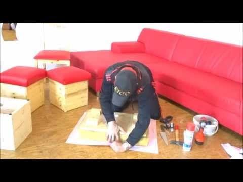 Polstern und mit Leder & Stoff beziehen ausführlich  Lederpflege, Holzpf...