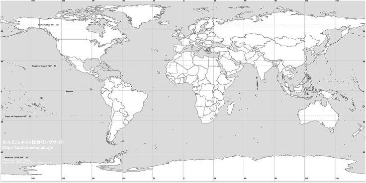 Blank World Map - Cerca con Google