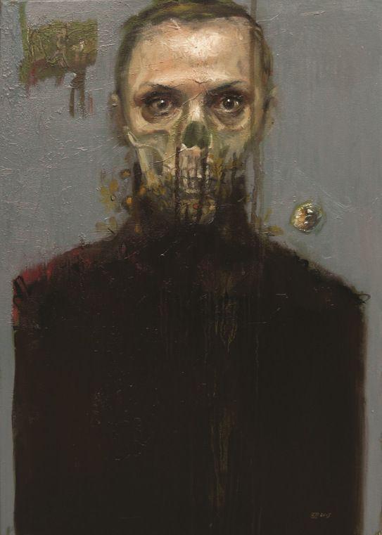Barbara Porczyńska, oil on canvas 2015