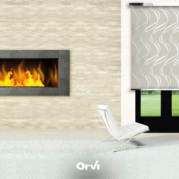 Orvi Living è... tessuti innovativi e linee essenziali per emozionare con la luce ▶︎www.orviserramenti.com