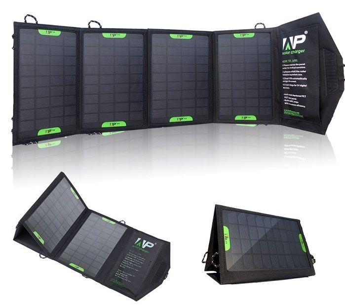 allpowers 16 watt portable solar charger one of best selling portable solar chargers review - Portable