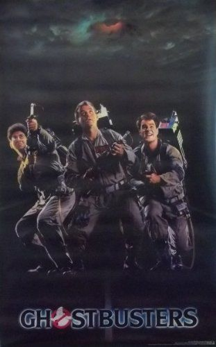 Ghostbusters 20x32 Cast Movie Poster 1984 @ niftywarehouse.com #NiftyWarehouse #Ghostbusters #Movie #Ghosts #Movies #Film