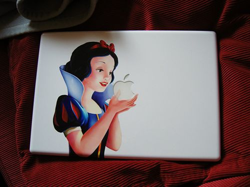 Snow White Macbook cover