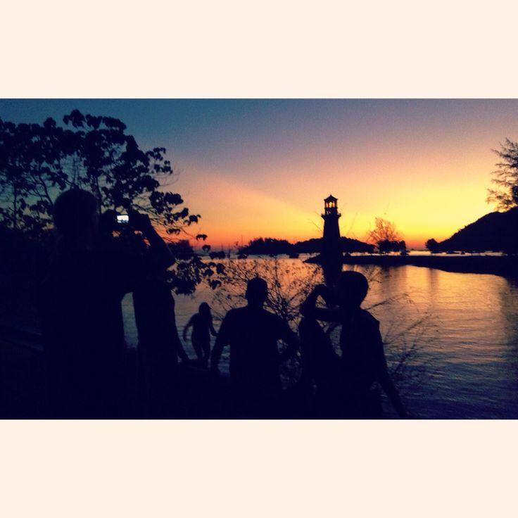 Sunset. Pulau Langkawi.