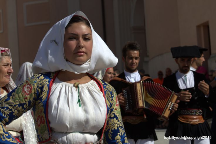 Sardinian Costume from Meana Sarda, Nuoro, Sardinien.   by loybillyrock