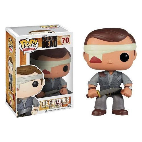 Walking Dead Pop! Vinyl Governor Bandaged Version Figure  - Fangirl - The Walking Dead