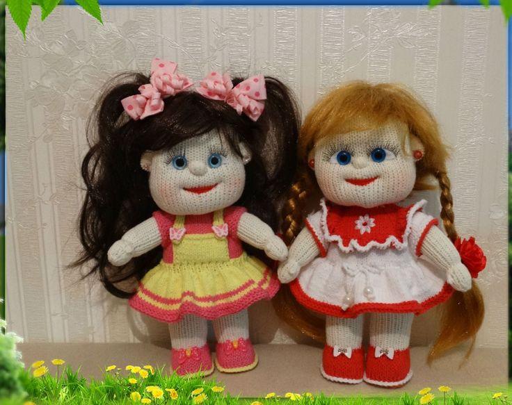 куклы спицами