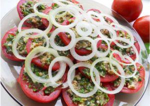Закуска из помидоров по-тбилисски | мой сад заготовки