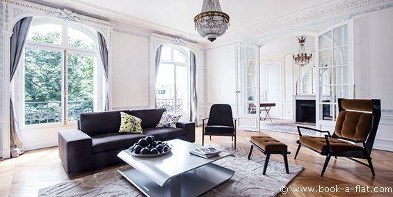 Appartement meublé Paris - Panthéon - Sorbonne - 3 chambres et + rue de l'Abbé de l'Epée - 260 m - Ref 9637