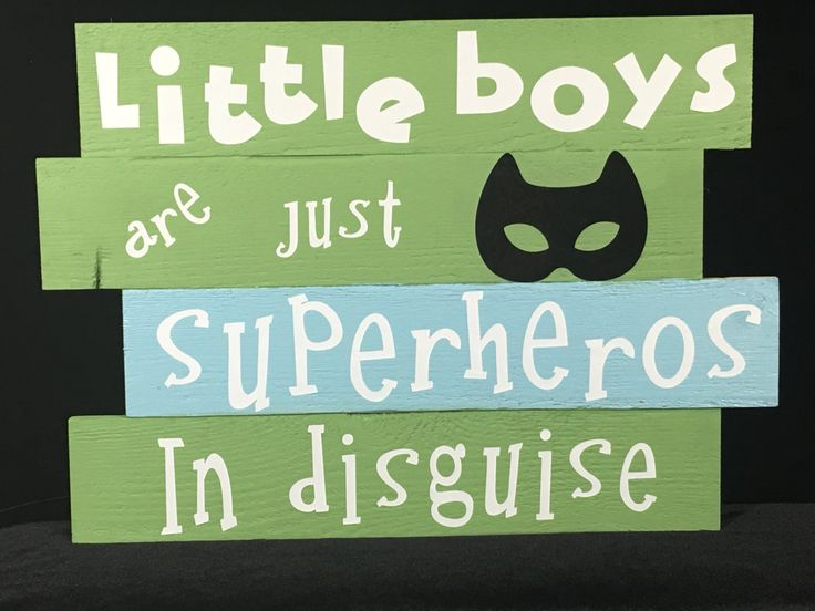 Wood Sign, Superhero Wood Sign, Rustic Wall Decor, Home Decor, Wall Hangings, Boy's Room, Wall Art, Shabby Chic, Boy Nursery room, Quotes by Inspiredthread on Etsy