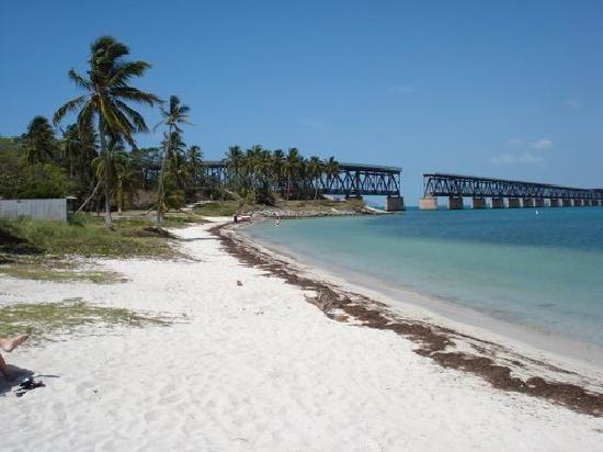 Bahia Honda Beach near Big Pine Key