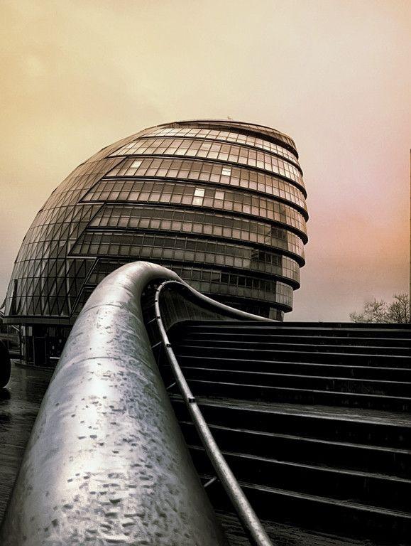 ~~City Hall ~ London, England by Isidoro M~~