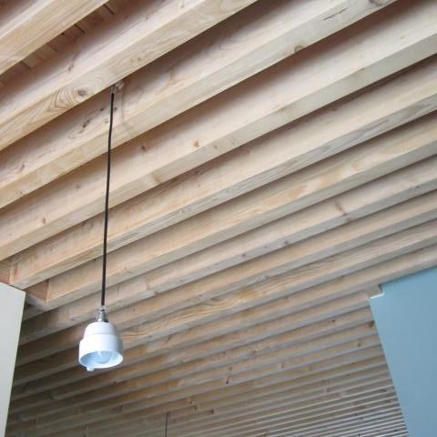 detail plafond keuken