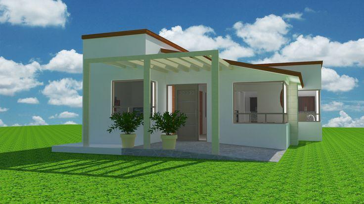 Espaciohonduras dise os y planos de casa estilo for Proyectos minimalistas