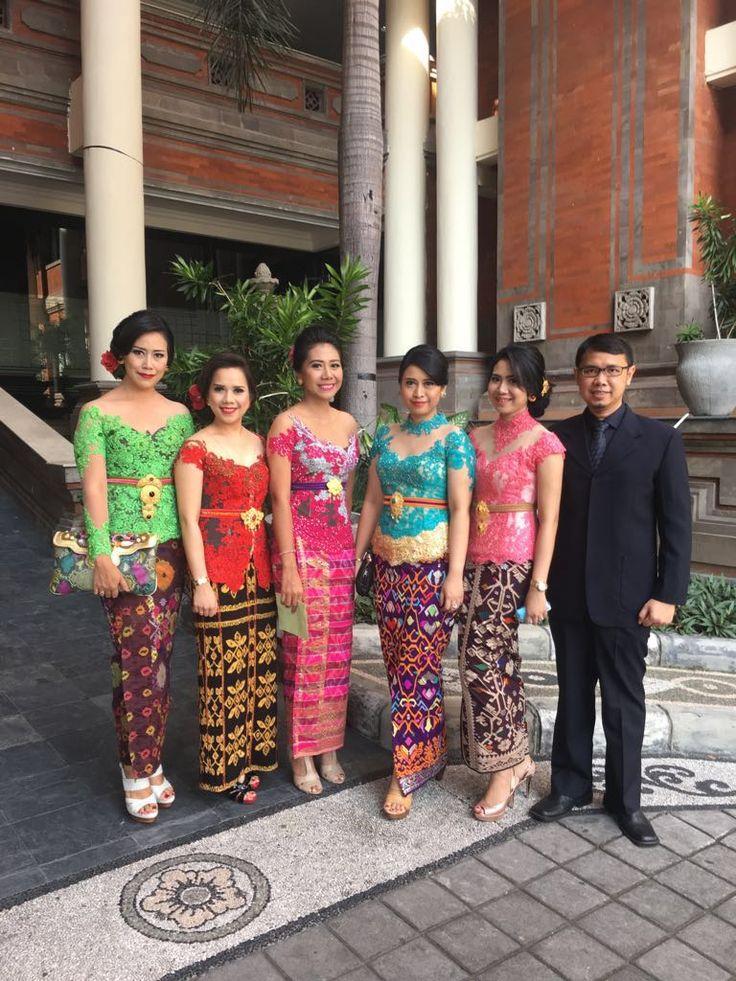 Kebaya with songket/tenun kupang