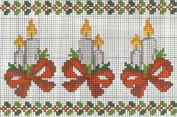 Meu Mundo, Artesanatos: Ponto cruz (Natal)