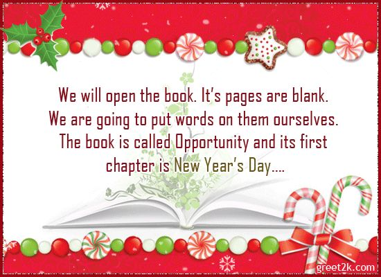 21 best new year greetings images on pinterest online greeting the book of opportunity send free ecards poems and quotes greeting cards postcards wishes m4hsunfo
