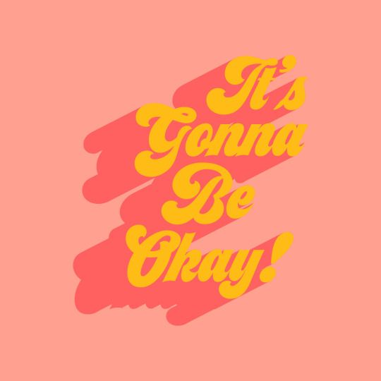 GIRLBOSS MOOD: Keep it in perspective, it's gonna be okay! / Inspiration Typography Monday Motivation