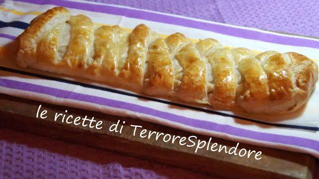 Le ricette di TerroreSplendore: Treccia di pasta sfoglia salata