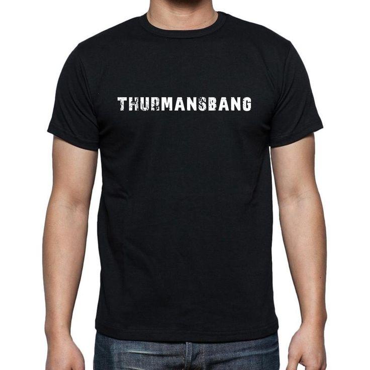 thurmansbang, Men's Short Sleeve Rounded Neck T-shirt