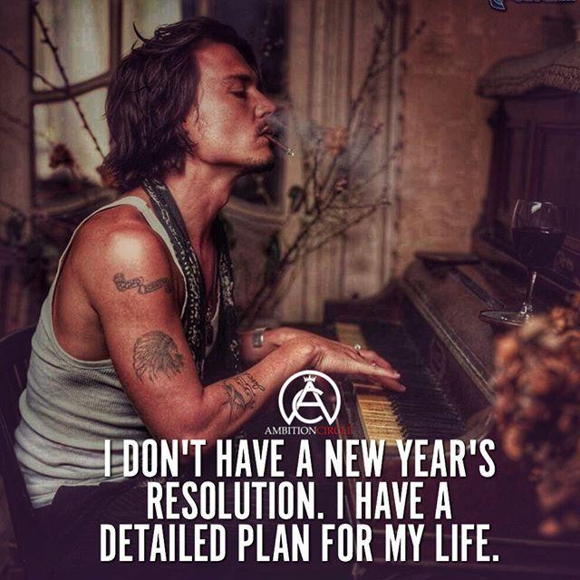 A resolution isn't enough. Have a detailed plan for your life. No days off! #success. #quotes #rich #wealth #prosperity #cash to achieve #passion #dreams #goals #entrepreneur. #Get your #6figures #income #secret http://wealthyguru.com
