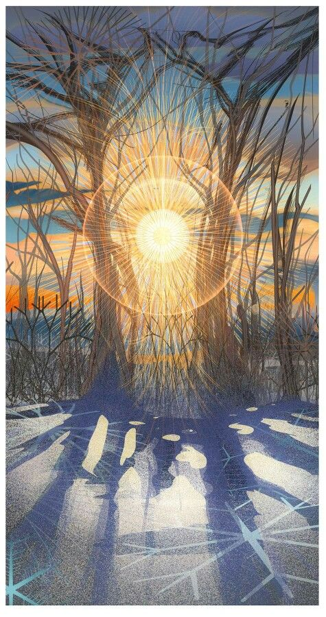 Android Jones -Winter Solstice Sunrise
