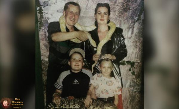 Sokol[off] / Александр Соколов в детстве, юности с родителями, сестрой