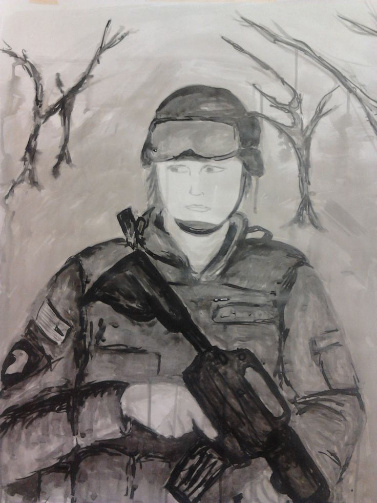 Soldier 3 - Indian Ink