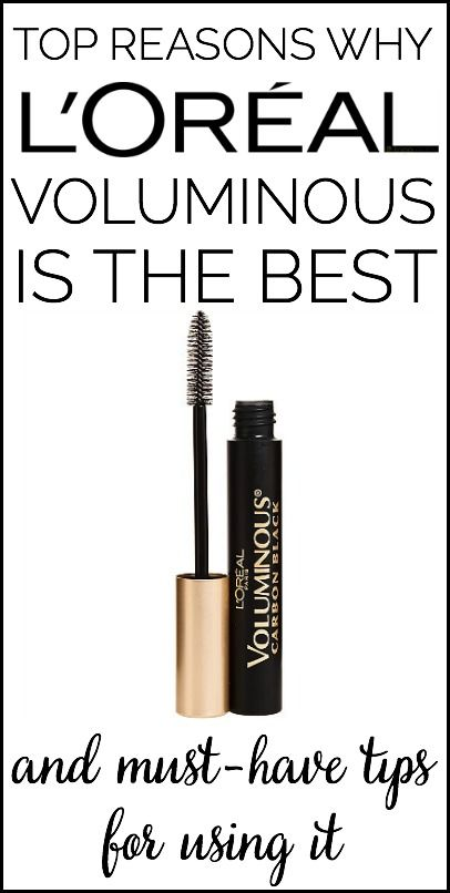 Top Reasons Why L'Oreal Voluminous Mascara is the best (Even better than They're Real by Benefit!) #loreal #makeup #beauty www.moderncommonplacebook.com
