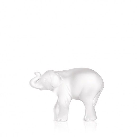Lalique Timora Elephant Figure