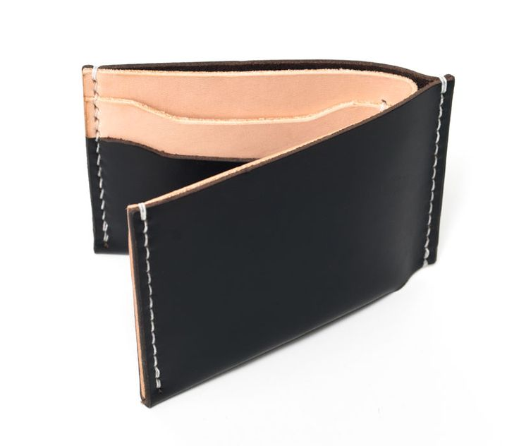 Black & Tan Bifold Wallet