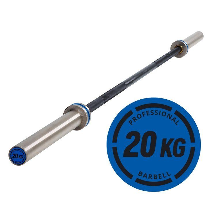 Professional Bar 20 KG - Black / Chrome - IRONSPORTS Hantelstange 50 mm  Mit einer Zugfestigkeit von 165.000 PSI (165 K) ist diese Stange hoch belastbar und für schweres Krafttraining bestens geeignet.  Ausführliche Informationen hier: http://www.megafitness-shop.info/Kraftsport/Hanteln-Gewichte/Hantelstangen/50-mm/Professional-Bar-20-KG-Black-Chrome--4005.html  #hantel #hantelstange #ironsports #hanteltraining #workout #fitness #gewichtheben #bankdrücken #kraftsport